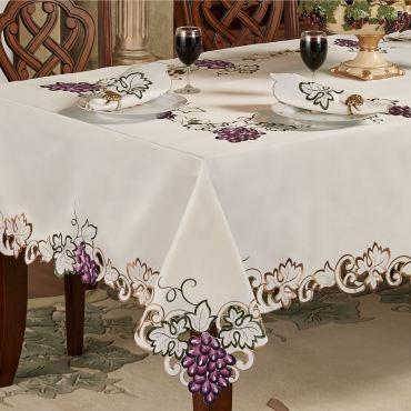 Cabernet Grape Table Linens