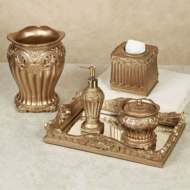 Flowering Medallion Bath Accessories