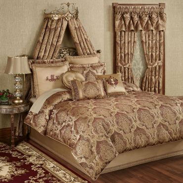Devonshire Damask Comforter Bedding