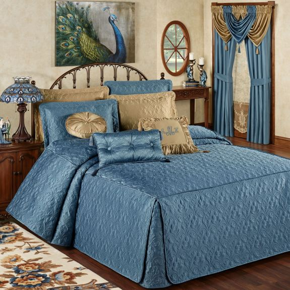 Cambridge Classics Blue Shadow Bedspread