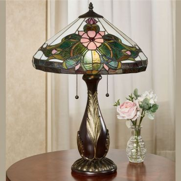 DeAndra Stained Glass Table Lamp