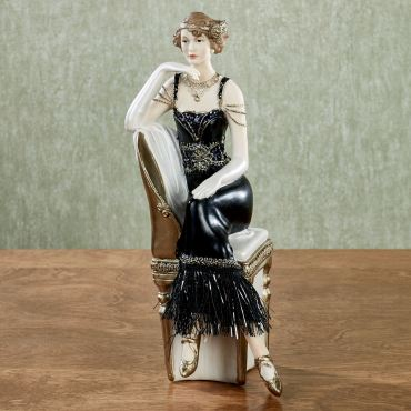 Exquisite Composure Lady Figurine