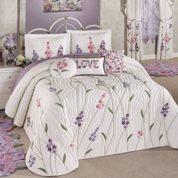 Wildflowers Floral Bedspread Bedding