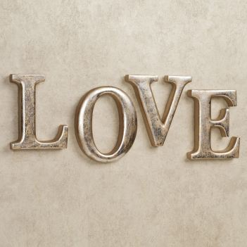 Love Letters Word Wall Art