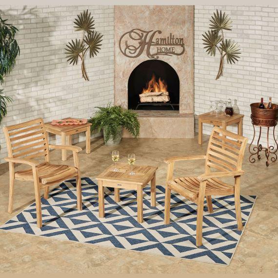 Oceana Teak Wood Side Table