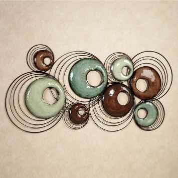 Cool Echoes Abstract Wall Sculpture