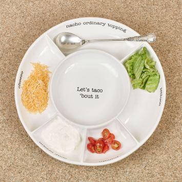 Circa Taco Serving Platter