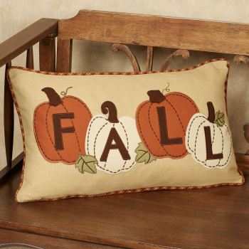Fall Pumpkin Patch Pillow