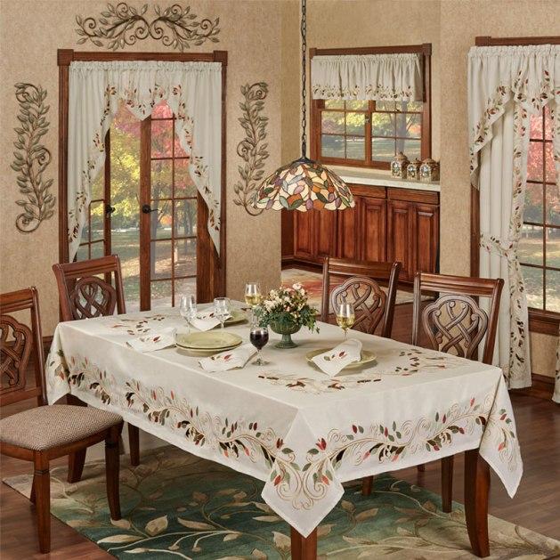 Scrolling Leaves Dining Room