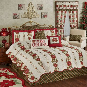 Holiday Traditions Coverlet Set