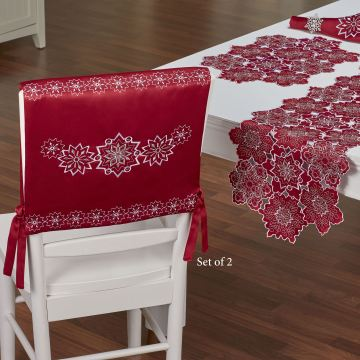 Snowflake Holiday Chair Covers