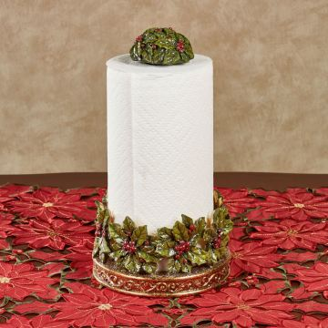 Winterberry Holiday Paper Towel Holder