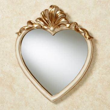 Leandra Heart Shaped Wall Mirror