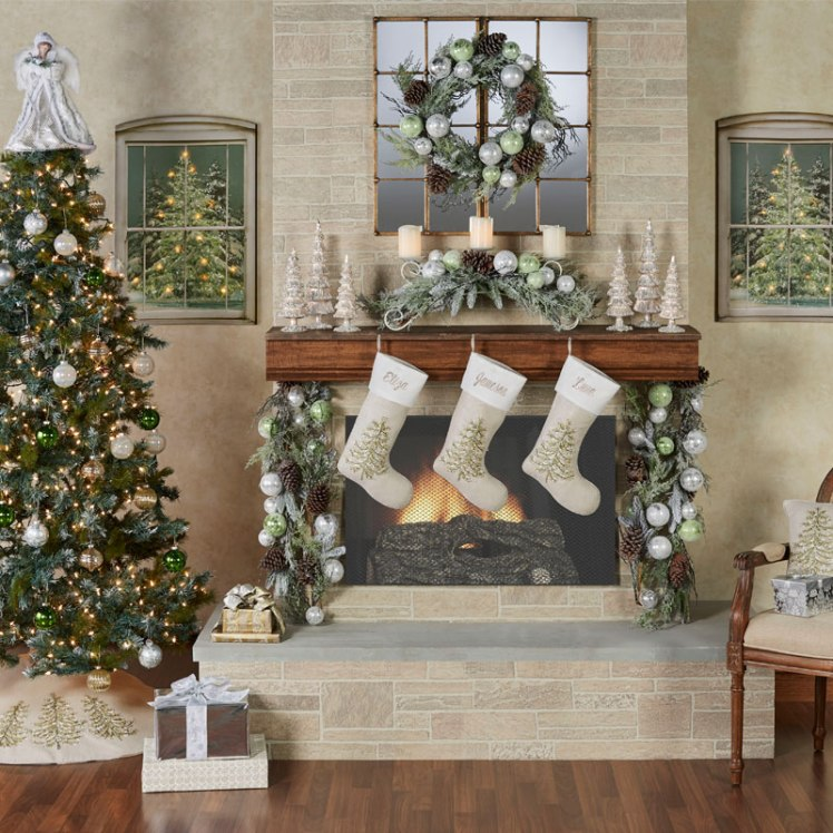 Winter Botanicals Holiday Decorating Lifestyle
