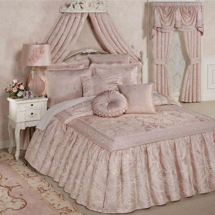 Princess Flounce Style Bedspread