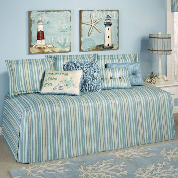 Clearwater Coastal Hollywood Daybed Cover