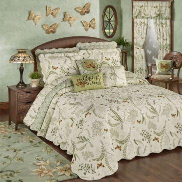 Butterfly Eden Bedspread Bedding