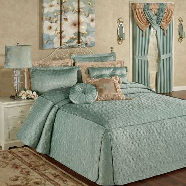 Cambridge Classics Aqua Mist Bedspread Bedding
