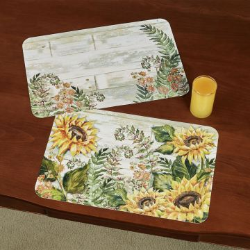 Sunflowers Placemats