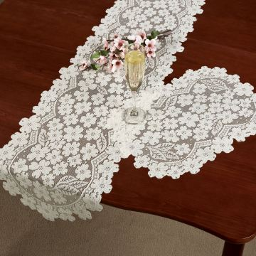 Dogwood Lace Table Linens
