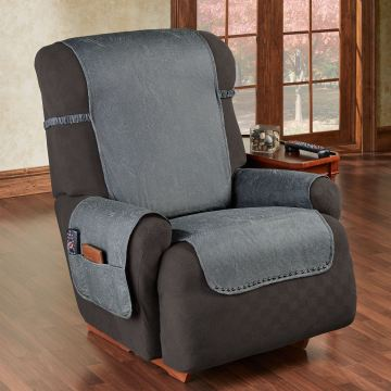 Stonehill Dark Gray Recliner Cover