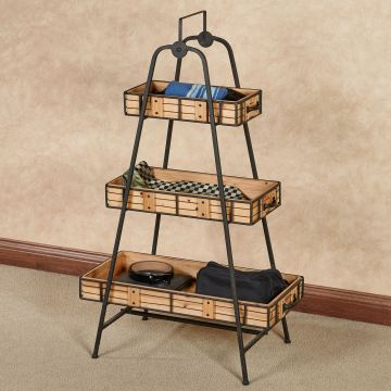 Cohan Three-Tier Floor Shelf