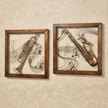 Musical Harmony Wall Art Set