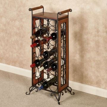 Milano Standing Wine Bottle Rack
