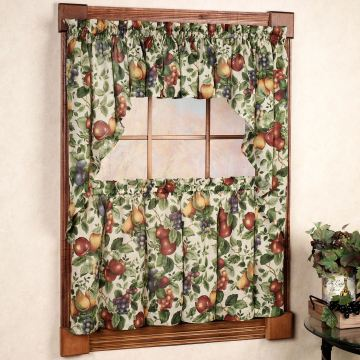Sonoma Fruit Kitchen Tier Window Treatment