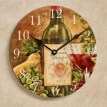 Chianti Classico Wine Wall Clock