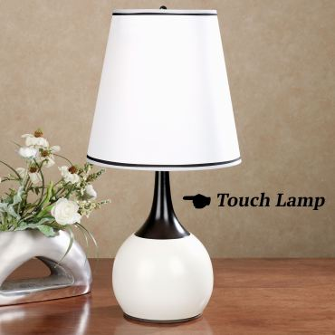 Briley Ivory Touch Table Lamp