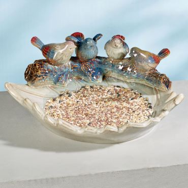 The Bird Perch Ceramic Accent