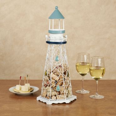 Lighthouse Wine Cork Caddy