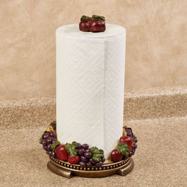 Tuscan Fruit Kitchen Paper Towel Holder