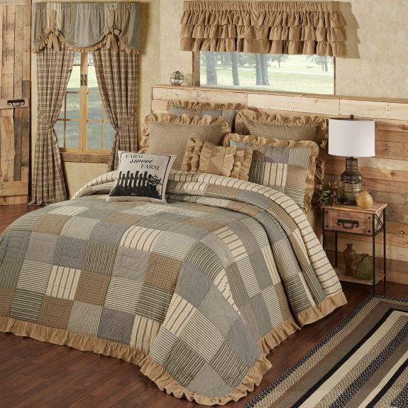 Prairie Mill Farmhouse Style Bedspread