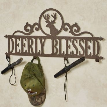 Occasions Deer Personalized Wall Hook Rack