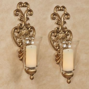 Asciano Hurricane Sconces