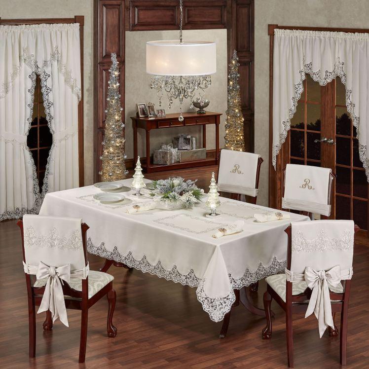 Evangelina Ivory Table Linens