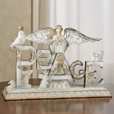 Peace Angel Table Sculpture