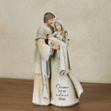 Heavenly Blessings Holy Family Nativity Figurine