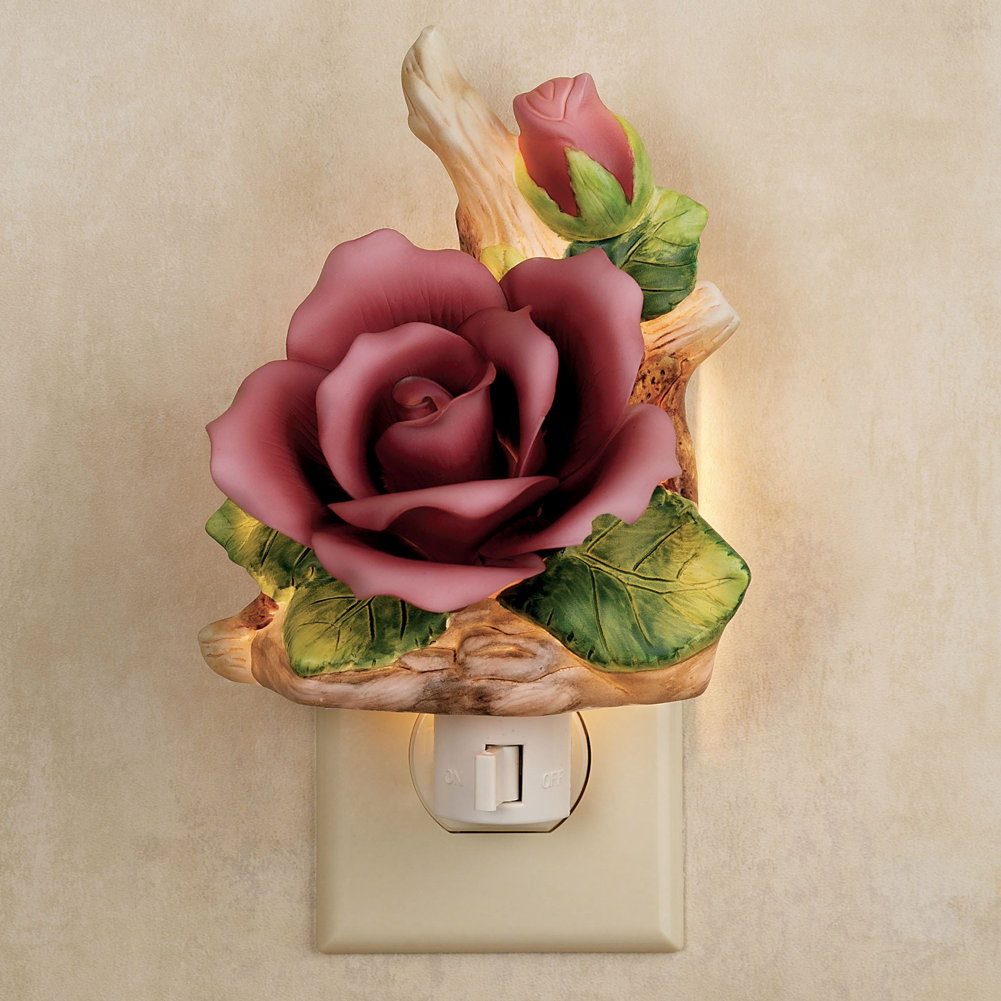 Claret Rose Nightlight