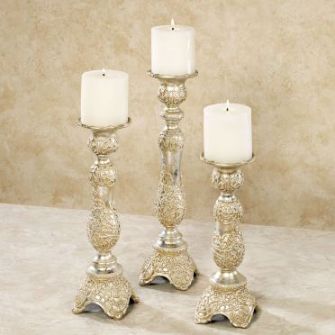 Polianna Candleholder Set
