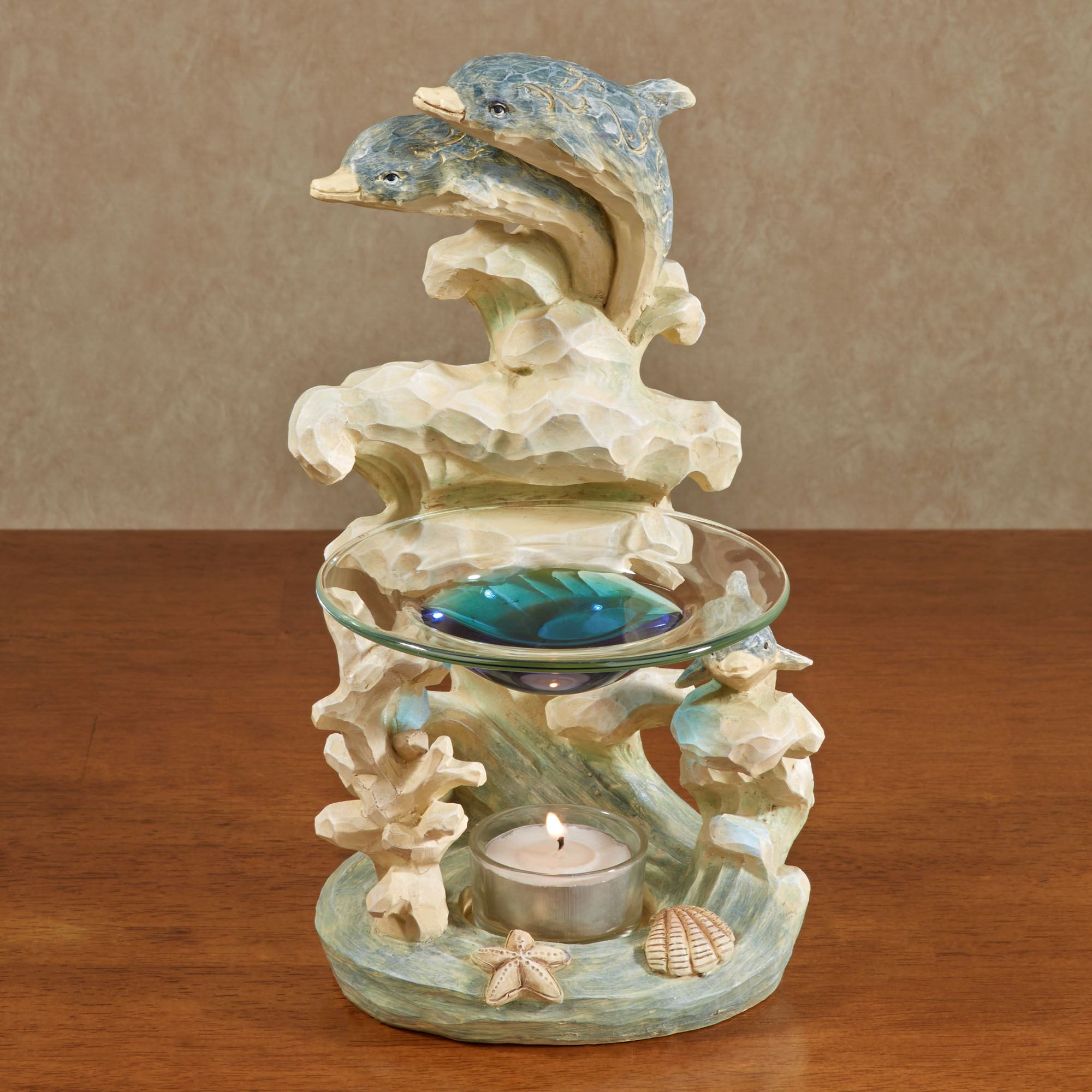 Dolphin Tealight Holder Scented Oil Burner