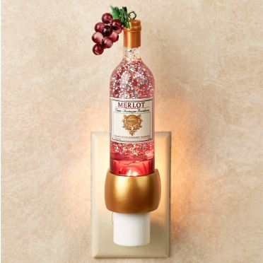Wine Bottle Shimmer Nightlight