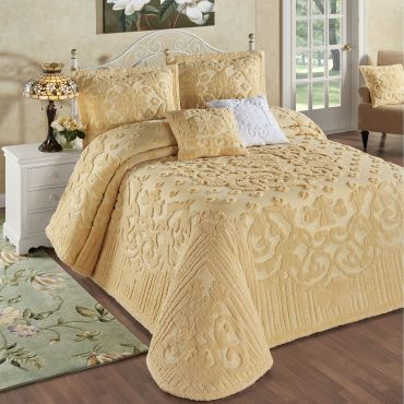 Laurent Chenille Bedspread Set