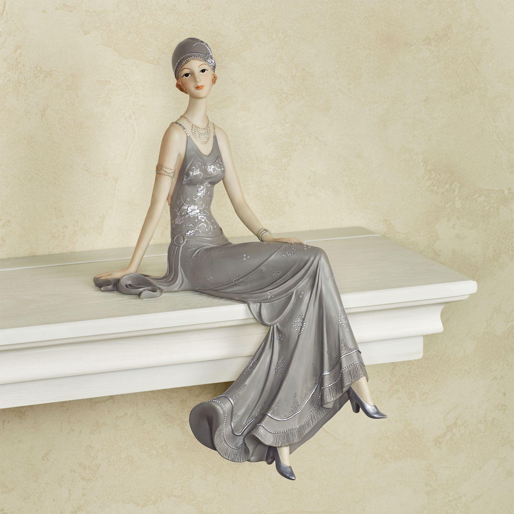 Alluring Beauty Lady Shelf Sitter